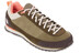 The North Face W's Scend Leather Burnt Olive Green/Miami Orange